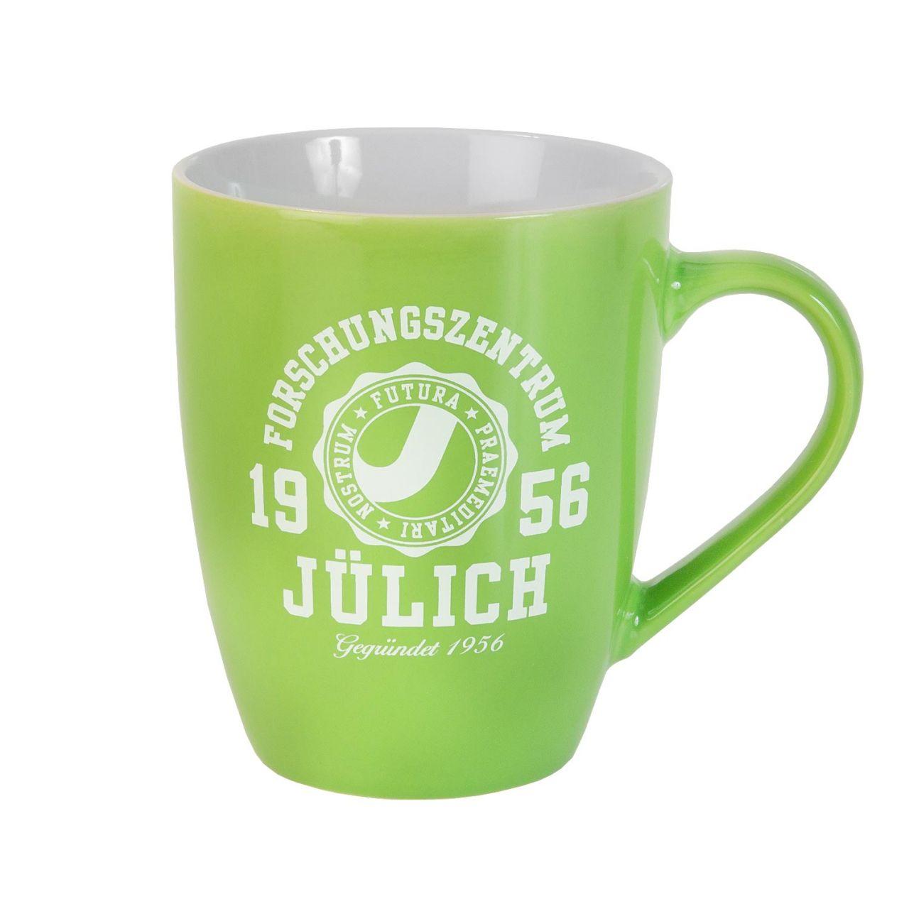 Ceramic Mug, green, marshall
