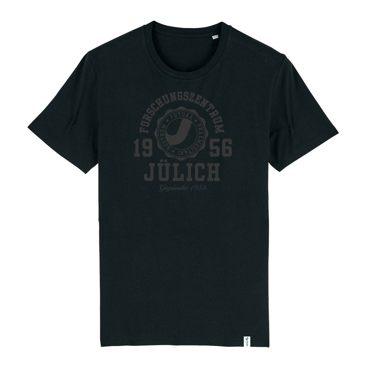 Men's Organic T-Shirt, black, marshall
