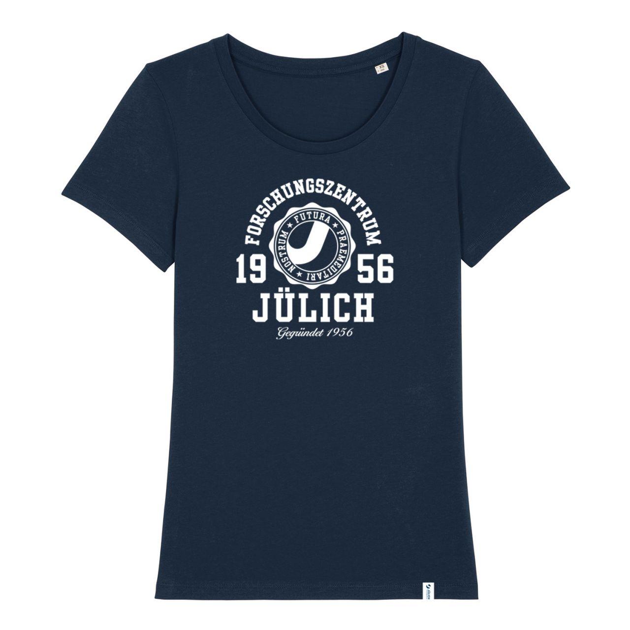 Damen Organic T-Shirt, navy, marshall